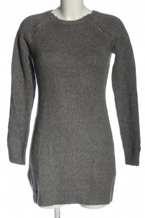 Abercrombie & Fitch Pulloverkleid hellgrau meliert Casual-Look