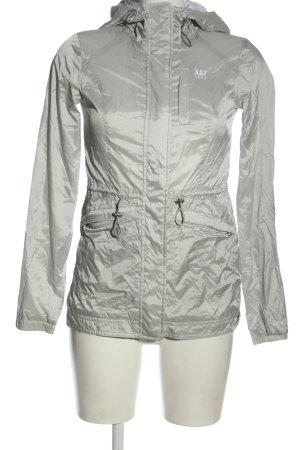 Abercrombie & Fitch Regenjacke silberfarben Casual-Look