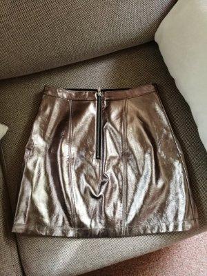 Abercrombie & Fitch Spódnica w kształcie tulipana złoto