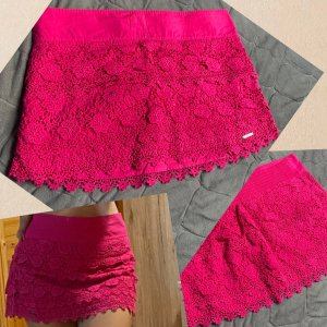 Abercrombie & Fitch Miniskirt magenta