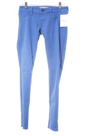 Abercrombie & Fitch Röhrenhose blau Casual-Look