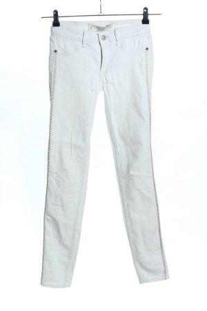 Abercrombie & Fitch Regenpijpbroek wit casual uitstraling