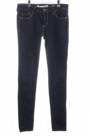 Abercrombie & Fitch Röhrenjeans blau Casual-Look