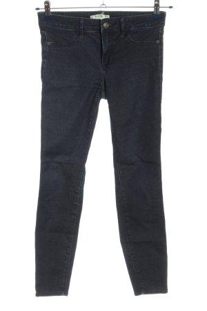 Abercrombie & Fitch Röhrenjeans blau Casual-Look