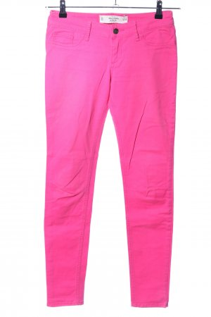 Abercrombie & Fitch Röhrenjeans pink Casual-Look