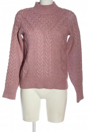 Abercrombie & Fitch Coltrui roze kabel steek casual uitstraling