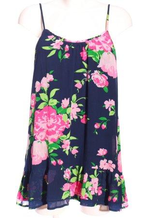 Abercrombie & Fitch Rüschen-Bluse Blumenmuster Casual-Look
