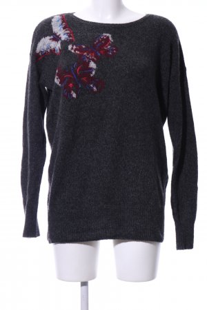 Abercrombie & Fitch Rundhalspullover mehrfarbig Casual-Look