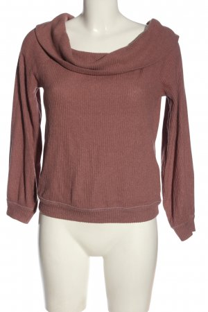 Abercrombie & Fitch Rundhalspullover pink Casual-Look