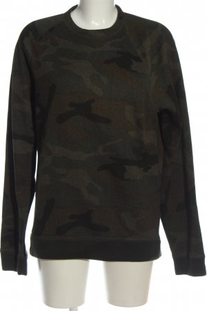 Abercrombie & Fitch Rundhalspullover Camouflagemuster Casual-Look
