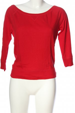 Abercrombie & Fitch Rundhalspullover rot Casual-Look