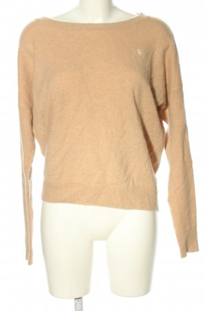 Abercrombie & Fitch Rundhalspullover nude Casual-Look