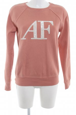 Abercrombie & Fitch Rundhalspullover nude-hellbeige Casual-Look