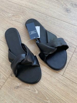 Abercrombie & Fitch Comfort Sandals black