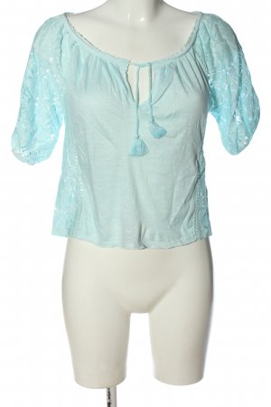 Abercrombie & Fitch Slip-over blouse blauw casual uitstraling
