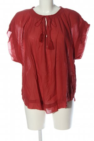 Abercrombie & Fitch Slip-over blouse rood klassieke stijl