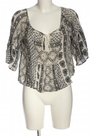 Abercrombie & Fitch Slip-over blouse volledige print casual uitstraling
