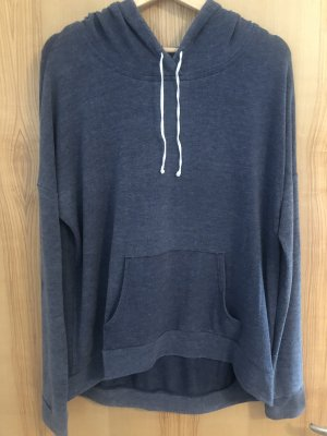 Abercrombie & Fitch Hooded Shirt blue