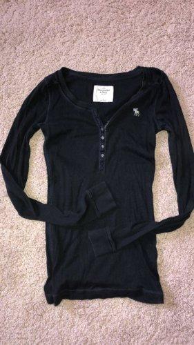Abercrombie & Fitch Shirt Größe S dunkelblau