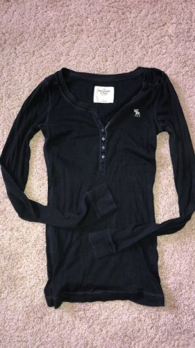Abercrombie & Fitch Long Shirt dark blue