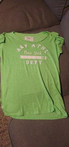 Abercrombie & Fitch Shirt grün in Gr. XS