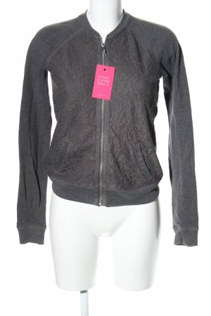 Abercrombie & Fitch Shirtjacke hellgrau meliert Casual-Look