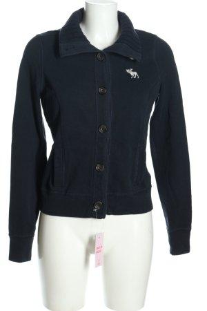 Abercrombie & Fitch Giacca-camicia nero stile casual