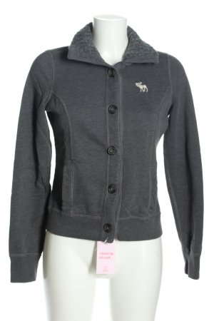 Abercrombie & Fitch Shirt Jacket light grey casual look