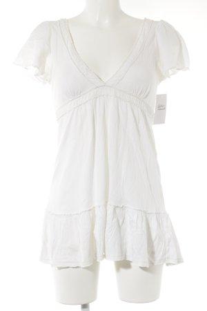 Abercrombie & Fitch Camicia a tunica bianco sporco