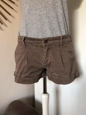 Abercrombie & Fitch Short Jeans beige greige Gr. 36