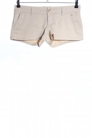 Abercrombie & Fitch Shorts wollweiß Casual-Look