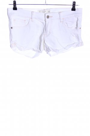 Abercrombie & Fitch Shorts weiß Casual-Look