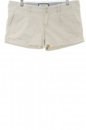 Abercrombie & Fitch Shorts creme Casual-Look