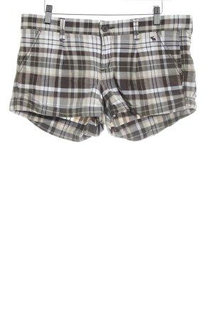 Abercrombie & Fitch Shorts Streifenmuster Logo-Applikation