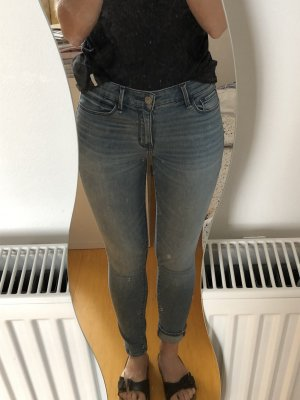 Abercrombie & Fitch Skinny Jeans blue-azure