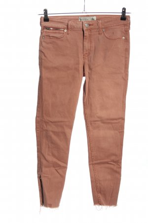 Abercrombie & Fitch Skinny Jeans braun Casual-Look