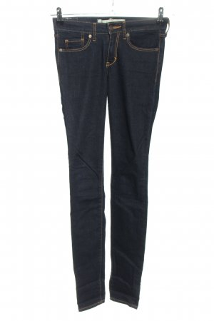 Abercrombie & Fitch Skinny Jeans blau Casual-Look