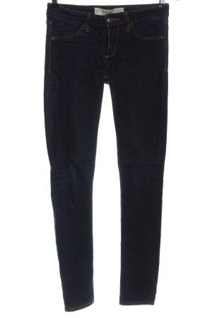 Abercrombie & Fitch Vaquero skinny azul look casual
