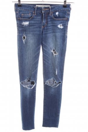 Abercrombie & Fitch Jeans skinny bleu