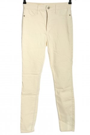 Abercrombie & Fitch Skinny Jeans creme Casual-Look