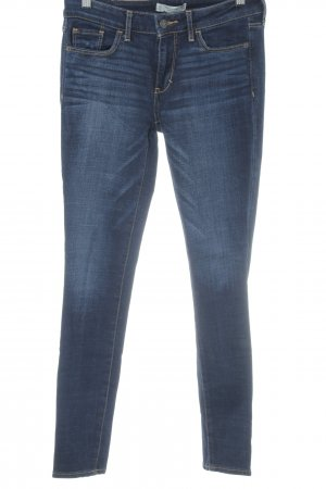 Abercrombie & Fitch Skinny jeans donkerblauw casual uitstraling