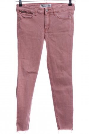 Abercrombie & Fitch Skinny Jeans pink Business-Look