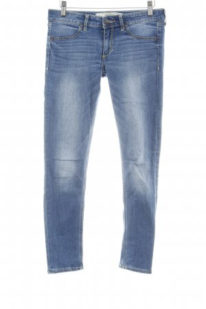 Abercrombie & Fitch Skinny jeans korenblauw-staalblauw casual uitstraling