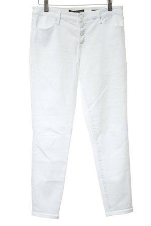 Abercrombie & Fitch Skinny Jeans weiß