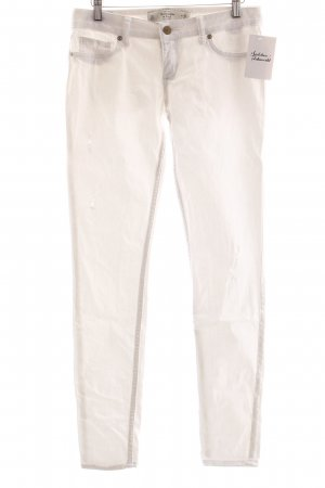 Abercrombie & Fitch Skinny Jeans weiß Street-Fashion-Look