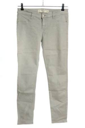 Abercrombie & Fitch Slim Jeans hellgrau Casual-Look