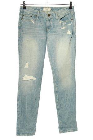 Abercrombie & Fitch Slim Jeans blau Casual-Look