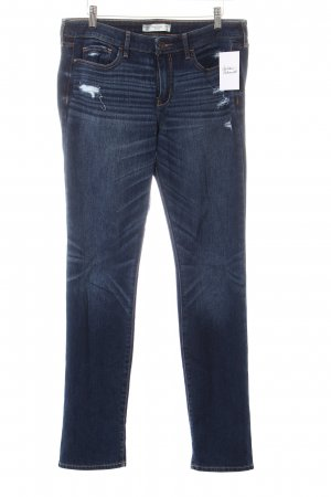 Abercrombie & Fitch Slim Jeans blau Casual-Look
