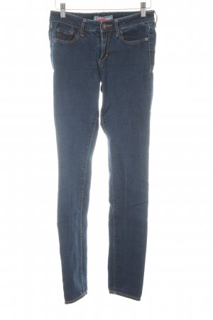 Abercrombie & Fitch Slim Jeans dunkelblau Casual-Look