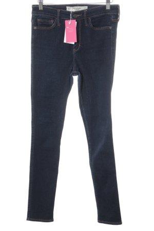 Abercrombie & Fitch Slim Jeans dunkelblau Jeans-Optik